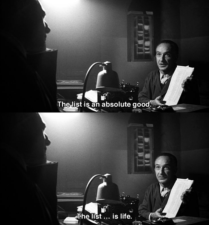 I have watched Schindler's List almost every day this week