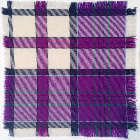 Purple MacDonald of Glencoe - 100% Wool Tartan Fabric – Highland In Style