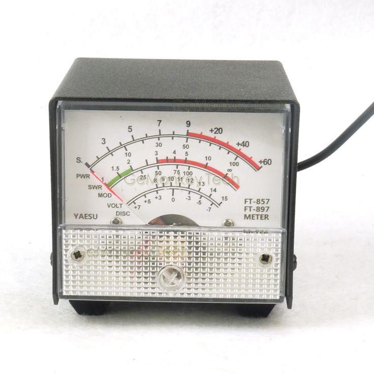 >> Click to Buy << External S meter/ SWR / Power Meter Receive display meter For Yaesu FT-857/FT-897 standing wave ratio meter white #Affiliate