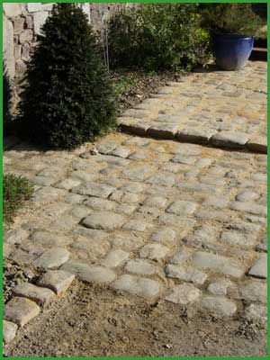 22 Closing paving laying paving slabs Côtes d'Armor
