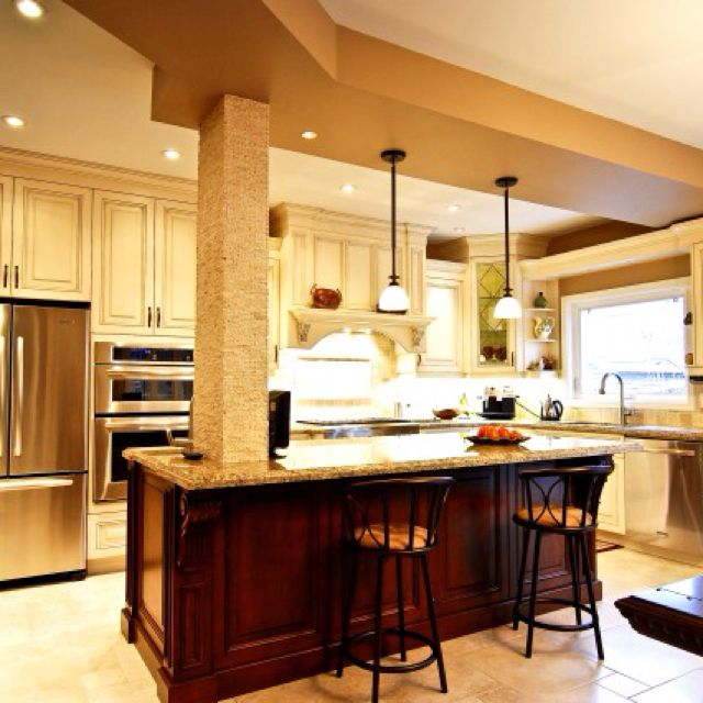 Kitchen Island Ideas With Support Posts 14 best kitchen island/columns images on pinterest | kitchen ideas