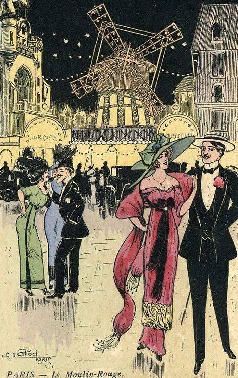 Moulin Rouge  Charles Naillod  1919