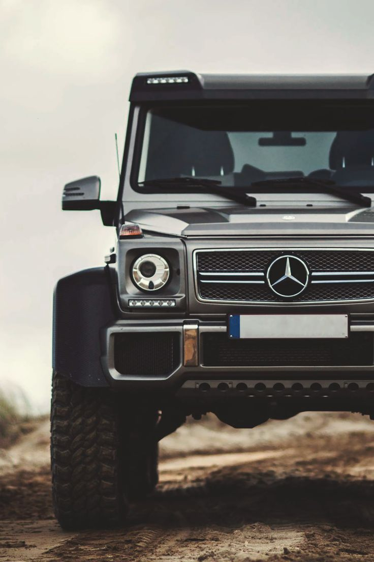 6x6 Mercedes-Benz G63 AMG - I'm not a luxury car fanatic, but this is hot.