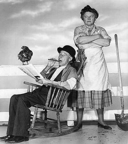 Ma & Pa Kettle movies -- as old as me or older; I enjoyed them on TV when I was growing up