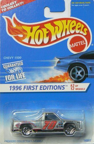 Hot Wheels 1996 First Editions Chevy 1500 #2/12 Col#367 1:64 Scale
