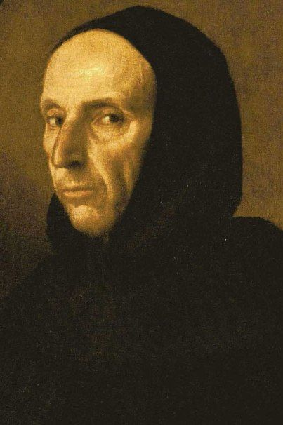 1493- Florence's most charismatic preacher, Girolamo Savonarola, begins to prophesy a northern invader that will sweep Italy's corrupt aristocrats from their thrones & allow a rebirth of a purified Church.  When the king of France invades Italy the next year (to aid the Pope against the king of Naples) Savonarola claims his prophecy is come true & incites the Florentines to rise up & throw off the wealthy Medici dynasty.  Piero de' Medici flees, as does his court painter Michelangelo…
