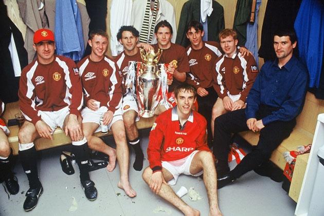 Cantona, Keane and the kids