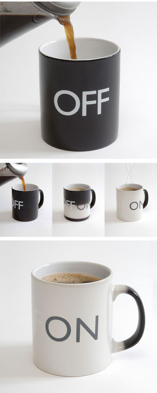 Awesome coffee mug.....is this neat or what???!!  Gotta have one.....