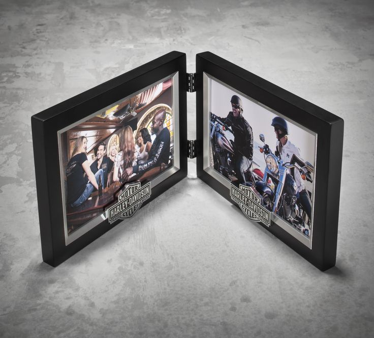 Show off those #Sturgis photos for years to come. | Harley-Davidson Double Photo Frame