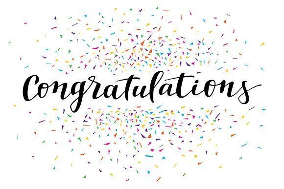 Confetti Congratulations Congratulations Images Congratulations Card Congratulations Pictures