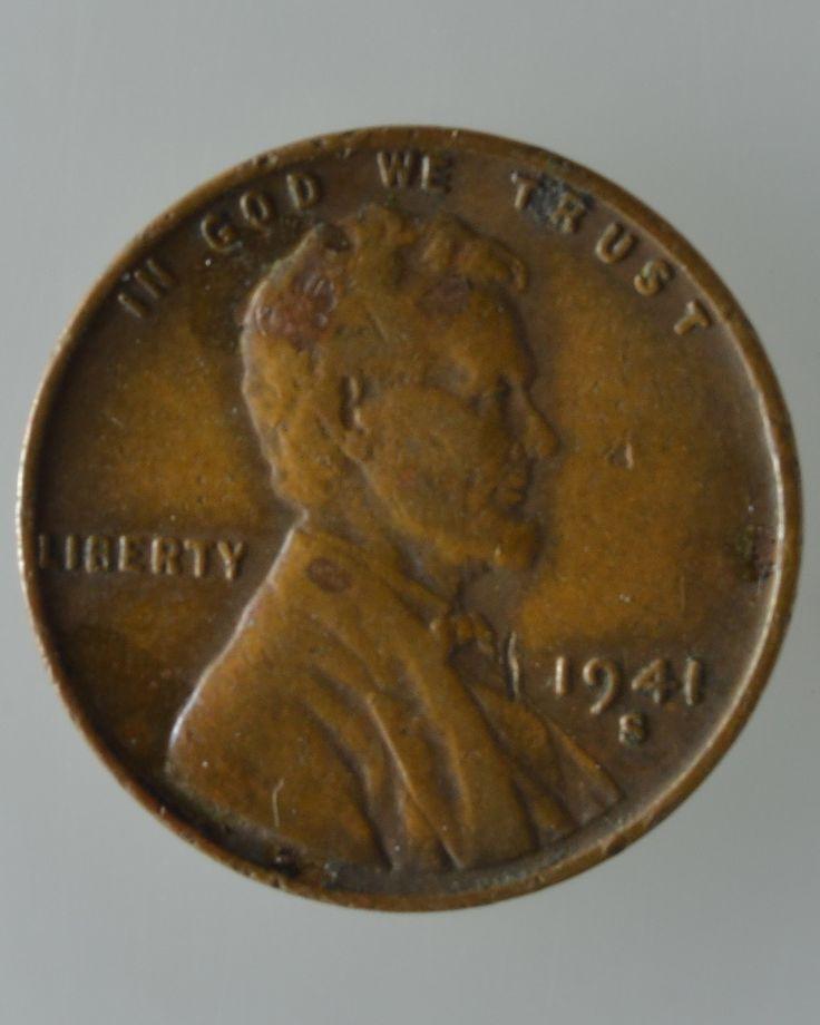 1941s Lincoln Wheat Penny Cent