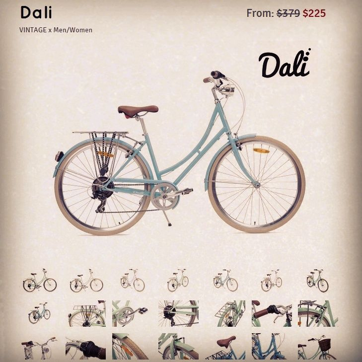 All new Dali. From only $225AU includes free shipping to most parts of Australia. Comes in #BabyBlue, #SnowWhite and #MintGreen. Scroll through our page for more info about the bike. Follow us to stay up to date with latest offers. #Australia #Bicycles #Bikes #Cruiser #Velo #PedalPower #Lifestyle #Fitness #Fun #Affordable #Sydney #Melbourne #Brisbane #Adelaide #Perth #Darwin #Hobart #Canberra