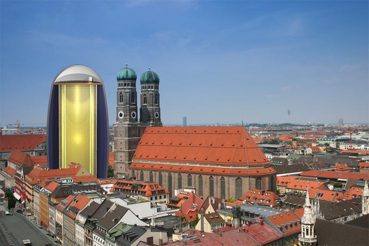Frauenkirche München & LENA   (credit: LENA working group, HAP/A.Chantelauze)