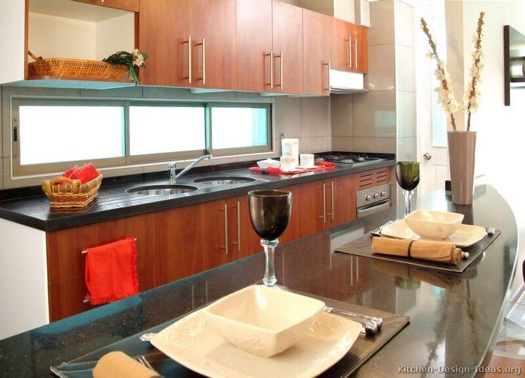 Kitchen Cabinets Above Windows