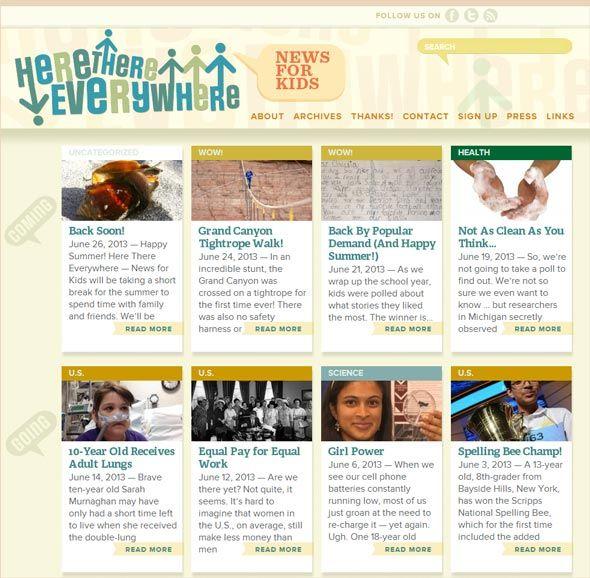 Child Safe News Websites
