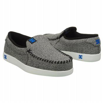Athletics DC Shoes Men's Villian TX Grey/Black/Blue Shoes.com