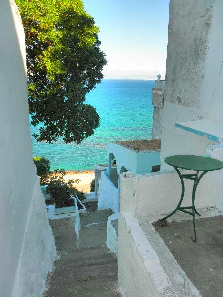 cafe hafa tangier morocco - mick jagger, jimi hendrix, & more
