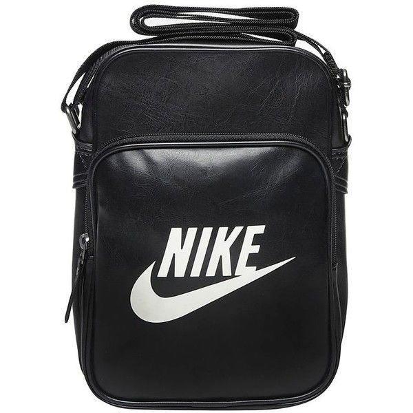 Nike Heritage Small Items Bag ($29) ❤ liked on Polyvore featuring bags, handbags, shoulder bags, nike handbags, strap purse, nike shoulder bag, nike and nike purse