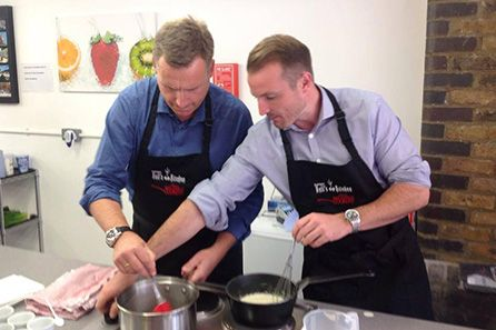 Introductory Cookery Masterclass with Three Courses at The Smart School of Cookery for One