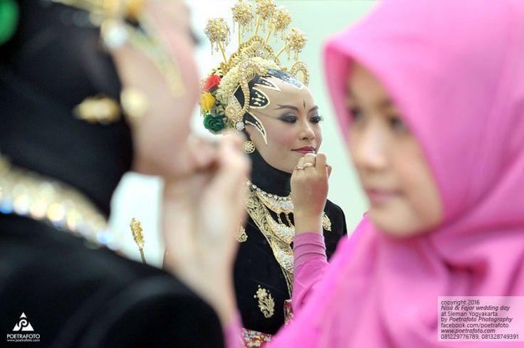 Foto Pengantin Tata Rias Makeup Paes Ageng Kanigaran Muslim