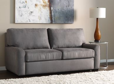 Sectional Sofas American Leather Living Room Two Cushion Queen Sleeper Woodley us Furniture Colorado Springs Fort Collins Longmont Lakewood