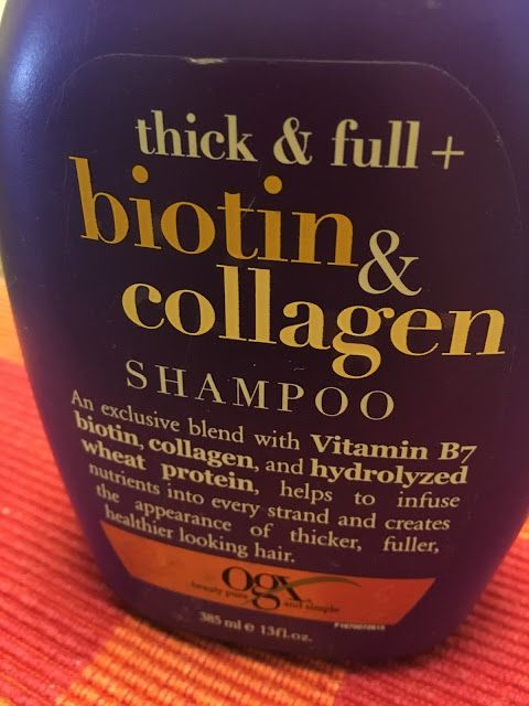 Kumkum's Beauty and MakeUp World: Organix Thick and Full Biotin and Collagen Shampoo...