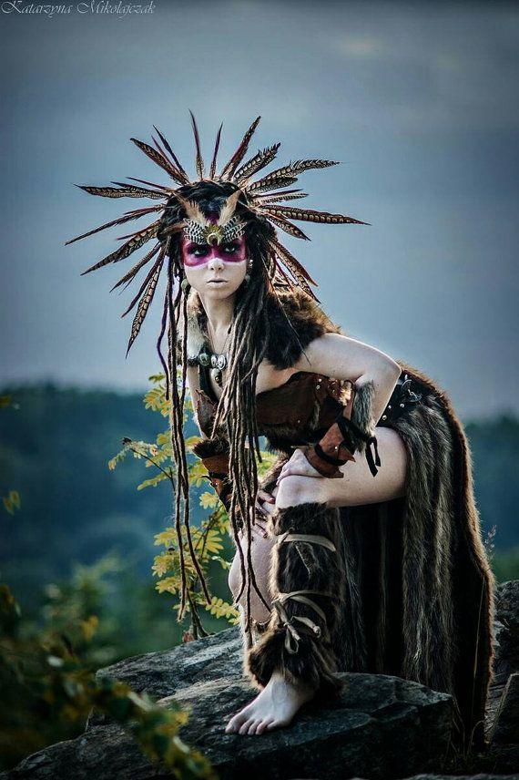 Juego de tronos traje falda de piel correa de cuero traje by PrimalForged | Etsy