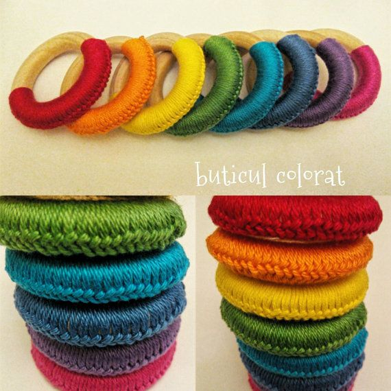 Check out this item in my Etsy shop https://www.etsy.com/listing/482868649/rainbow-teething-toy-wooden-ring-toy