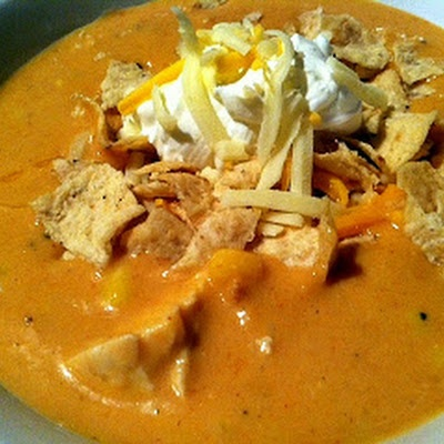 Chicken Enchilada Soup - Chili's Style