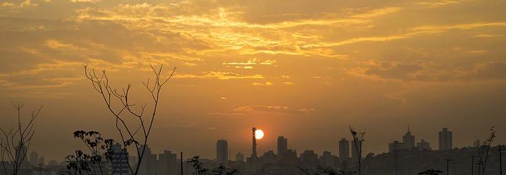 Por do Sol em São Paulo
