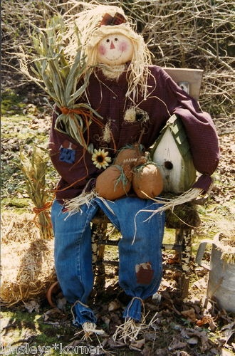 Primitive Harley A Scarecrow 5ft Tall Craft Pattern | eBay