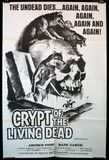 Crypt of the Undead, US one-sheet, 1973.
