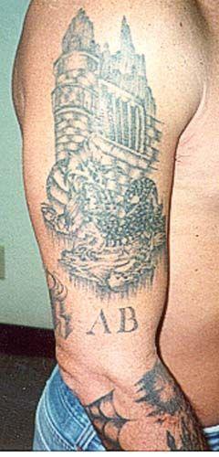Photo Gallery of Gang Tattoos: Aryan Brotherhood