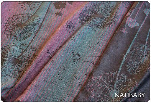 Natibaby Dandelions Fabulous (Linen Blend) | Marsupial Mamas, LLC