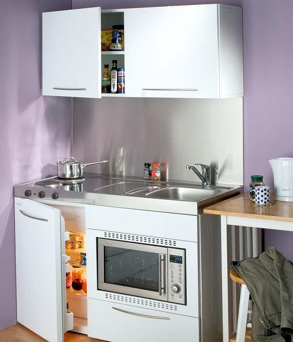 Las 25 mejores ideas sobre armario microondas en for Horno microondas pequeno
