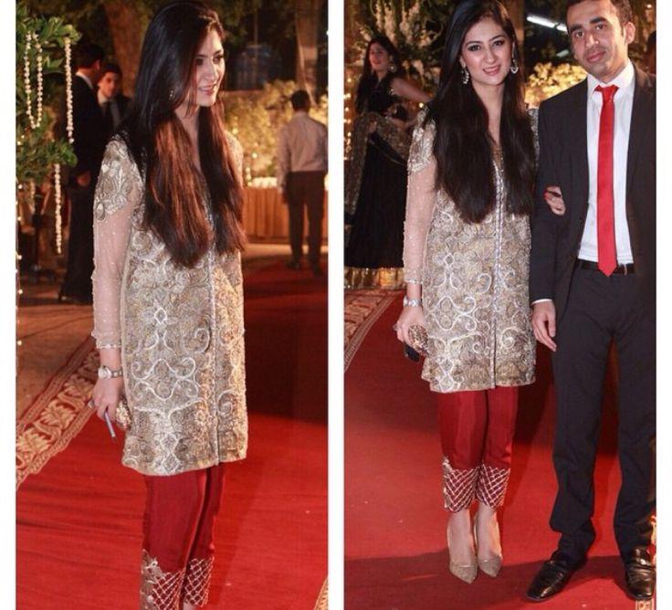 Pakistani designer dress! Perfect for evening function