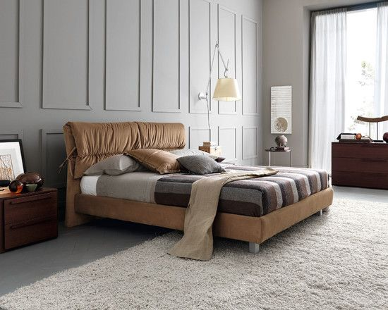 11 best ideas about wall panel on pinterest brown for Bedroom with wainscoting ideas