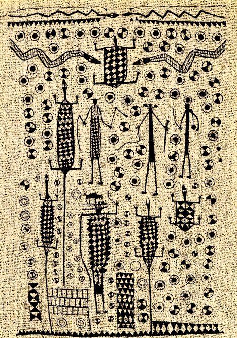 Ivory Coast Korhogo cloth