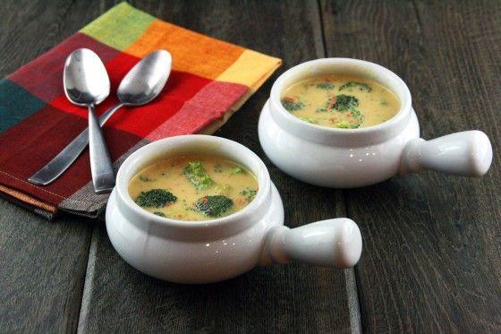 Homemade Broccoli Cheddar Soup <3