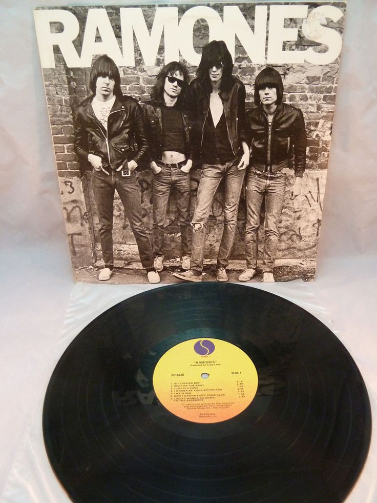 Ramones Self Titled Debut Vinyl Album 1976 Sire Records USA Punk Near Mint 6020 #PunkNewWave