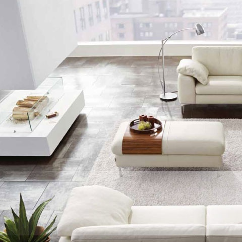 Ambiance contemporaine avec ce carrelage acier ou oxyd for Carrelage porcelanosa catalogue