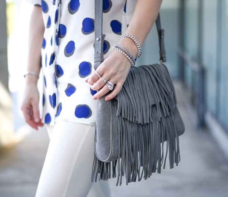 Fringe bag for festival season. #coachella #sxsw