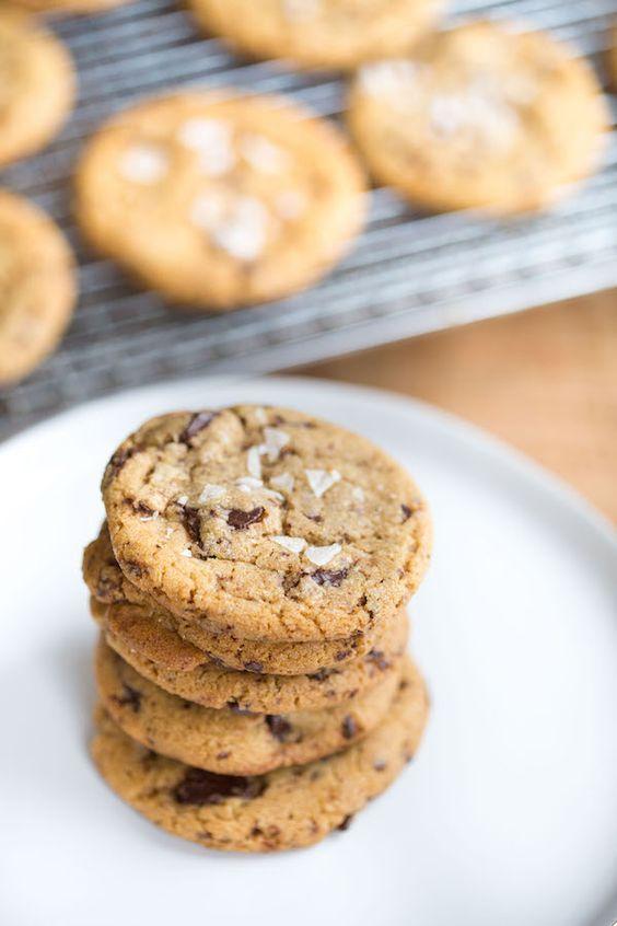 ... Chocolate Chip Cookies | Recipe | Sea Salt, Chocolate Chunk Cookies