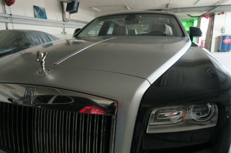 Luxuspflege für den Rolls Royce! www.avp-autopflege.ch