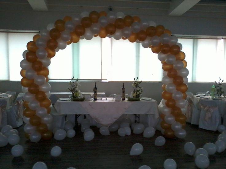 9 best decoraciones con globos para bodas images on - Decoraciones de pisos ...