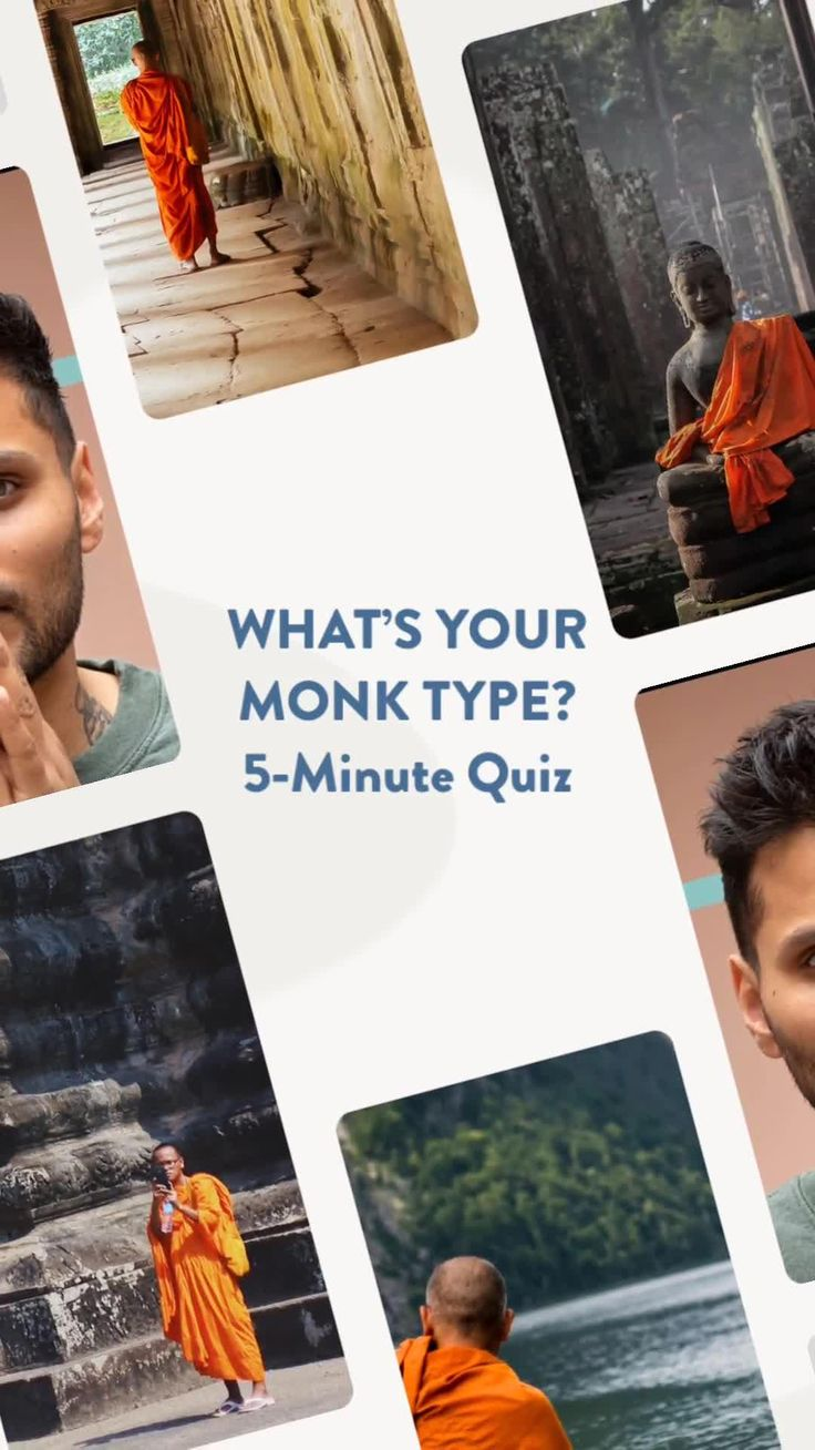 Are you a shaolin or silent monk take the 5minute monk