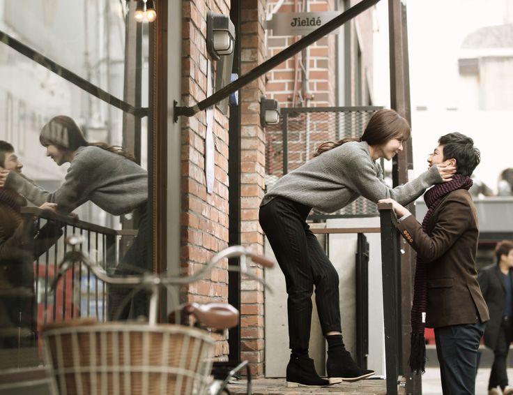 Korea concept outdoor photo shoot, Korean date snap, Korean pre wedding photo…