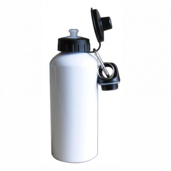 Sublimation 400ML-White Water Bottle In India   Sublitech