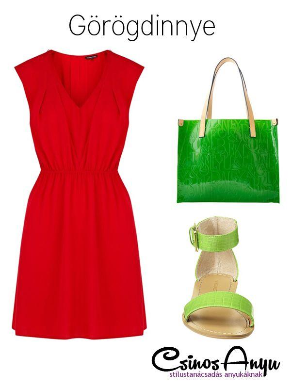 Nyári színek: görögdinnye http://csinosanyu.hu