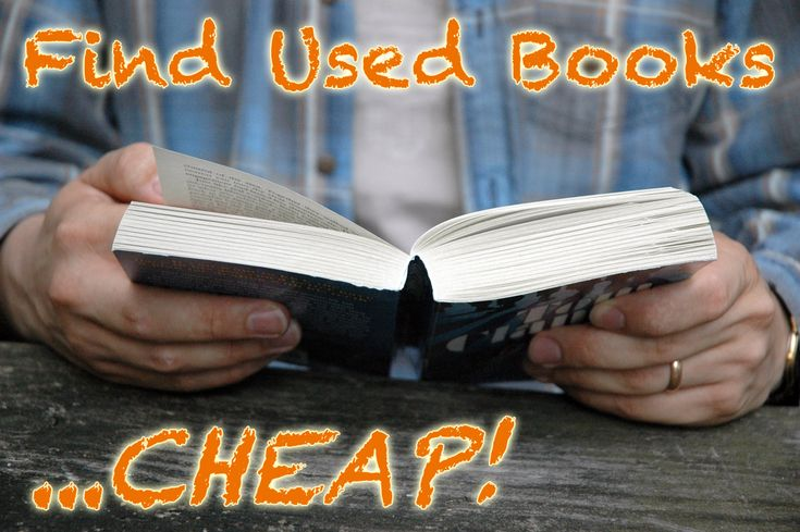 Where to Find Cheap Used Books